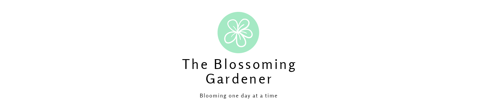 The Blossoming Gardener